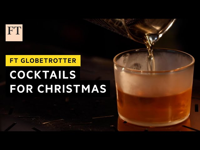 How to make the perfect Christmas cocktail  Globetrotter