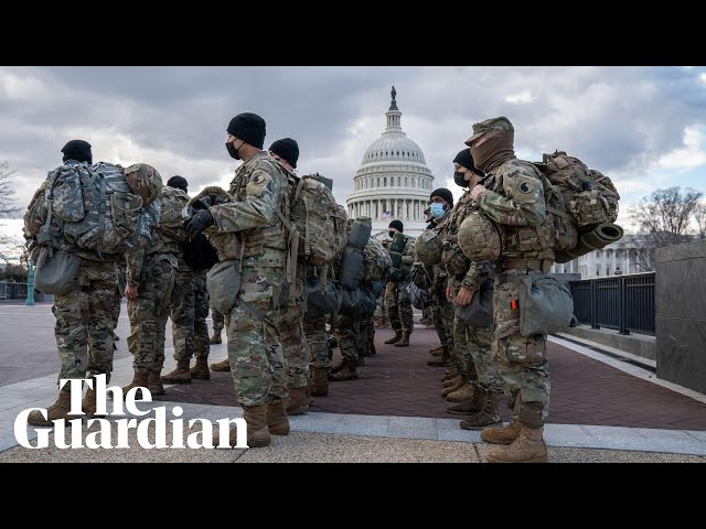 US Capitol on security lockdown ahead of Biden inauguration