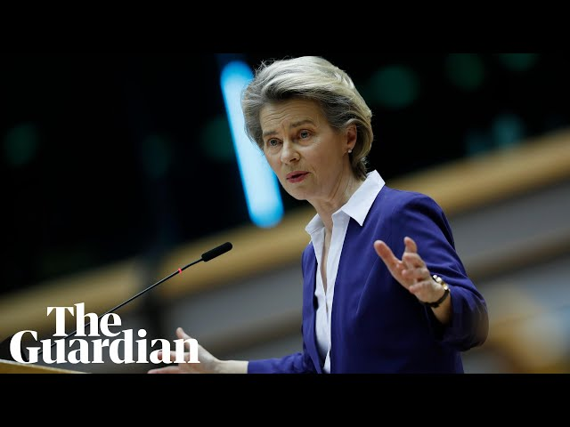 Ursula Von Der Leyen says Europe has a 'friend in the White House' again