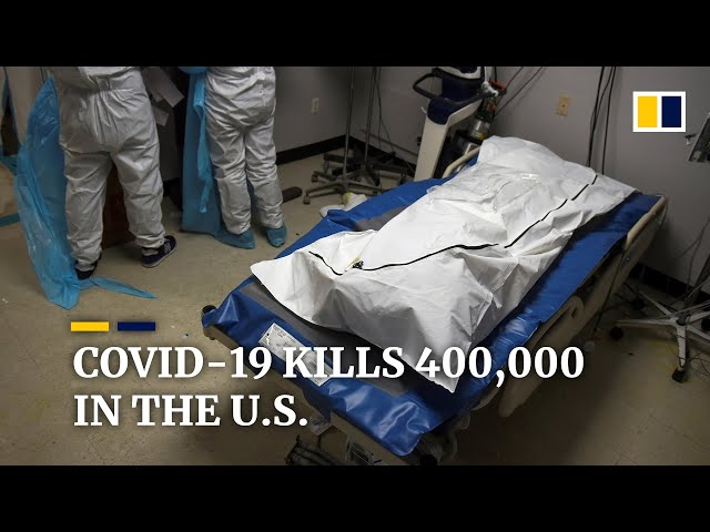 Covid-19 death toll hits 400,000 in the United States