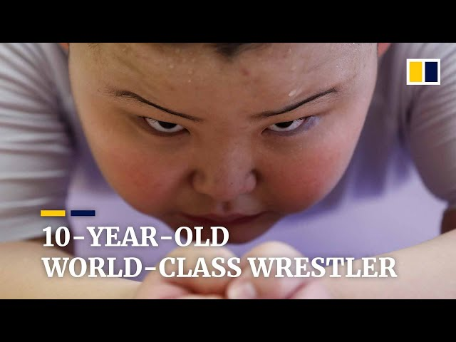 Meet the 10-year-old world champion sumo wrestler