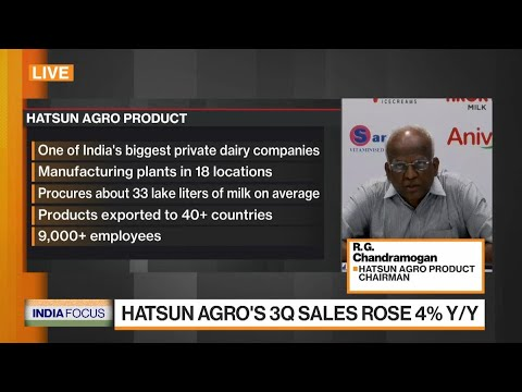 India's Hatsun Product to Start Three Projects by March