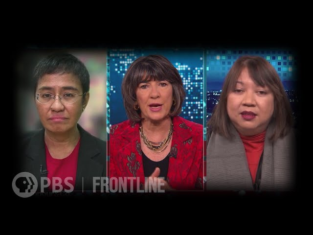 "Christiane Amanpour, Maria Ressa & Ramona Diaz in Conversation About ""A Thousand Cuts"""