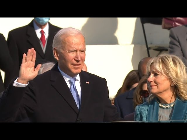 Watch: Joe Biden sworn in as 46th president of the United States