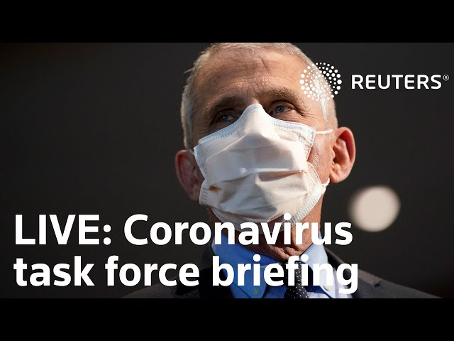 LIVE: Dr. Fauci, the White House COVID-19 response team hold a briefing