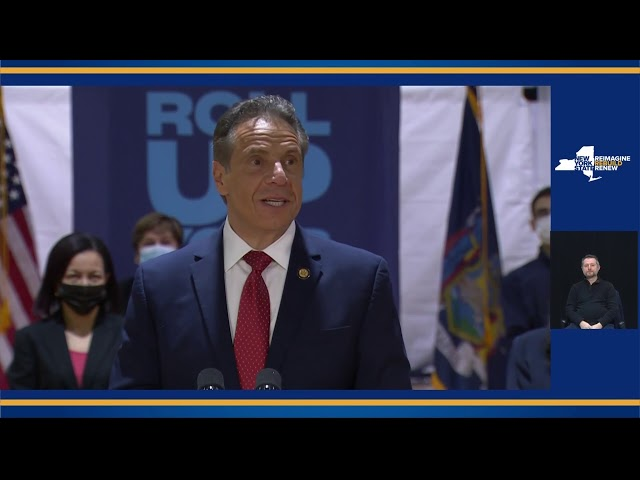 LIVE: Governor Cuomo makes an announcement in New York City