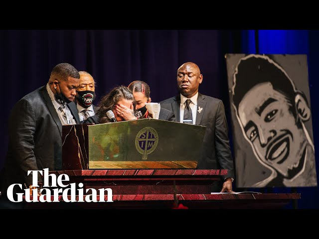 Daunte Wright mourned at Minneapolis funeral: 'My son should be burying me'