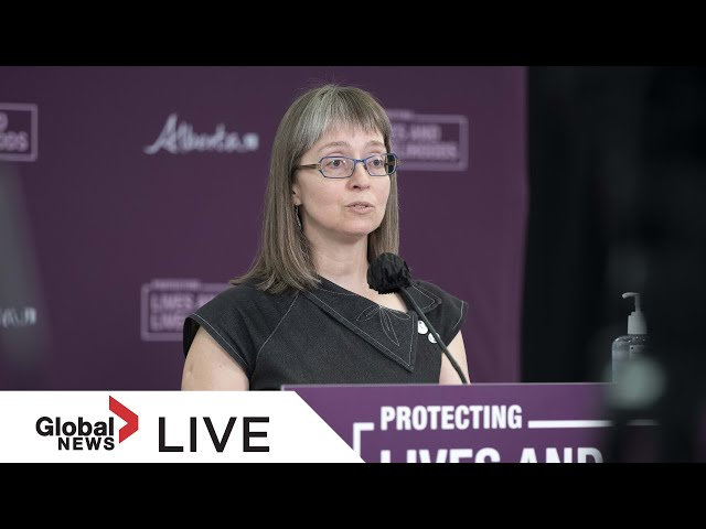 Alberta's top doctor updates provides update on state of COVID-19 in the province on Thursday | LIVE