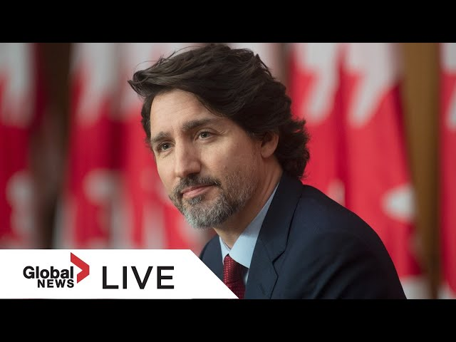 Trudeau provides update on Canada's COVID-19 response, vaccine rollout | LIVE