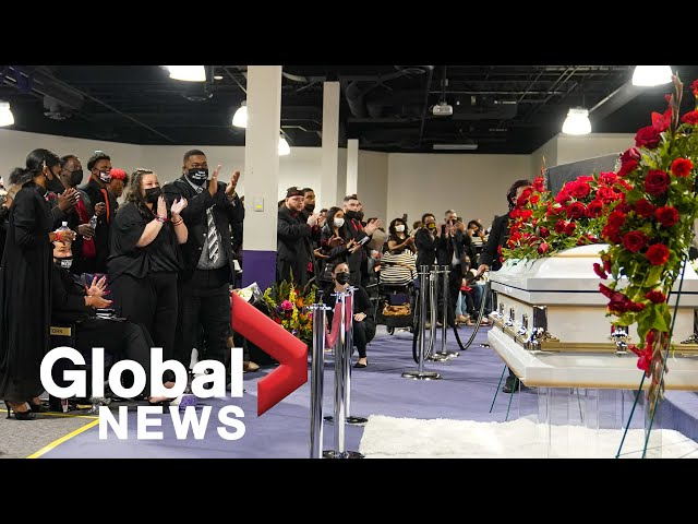 Daunte Wright funeral: Hundreds gather in Minneapolis in remembrance | FULL
