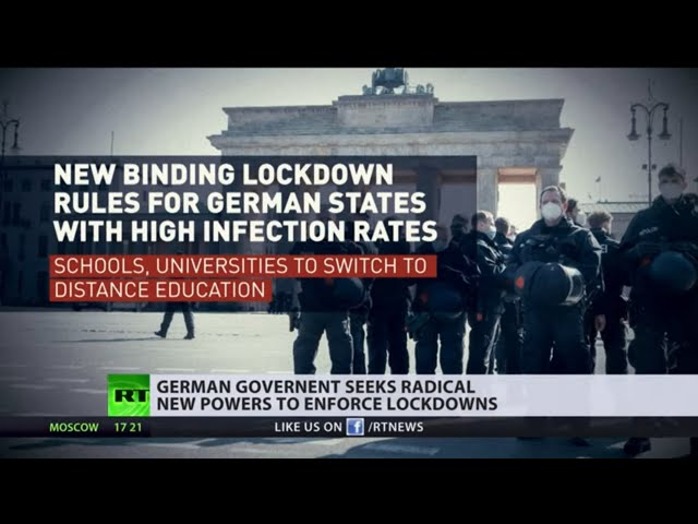 German government seeks radical new powers to enforce lockdowns