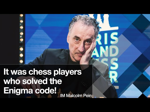 It was chess players who solved the Enigma code | IM Malcolm Pein
